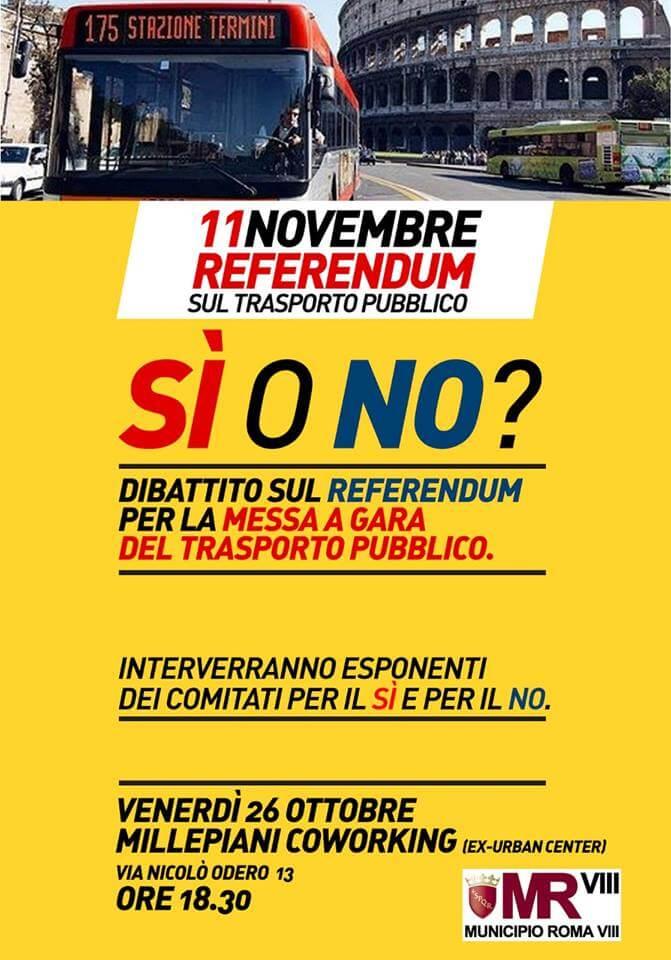 Referendum sul trasporto pubblico