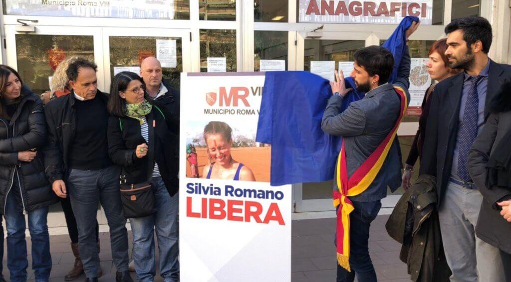 Silvia Romano libera!
