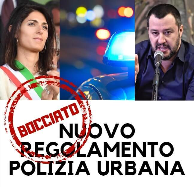 bocciato Regolamento Polizia Urbana
