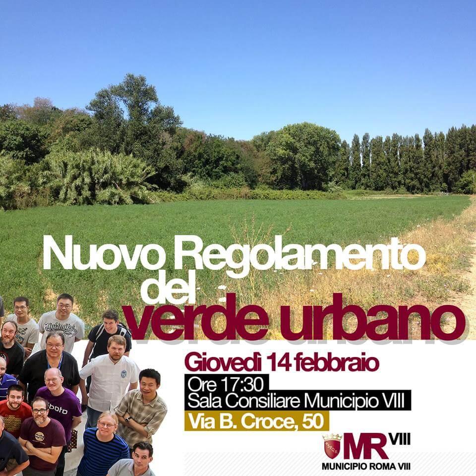 nuovo regolamento verde urbano