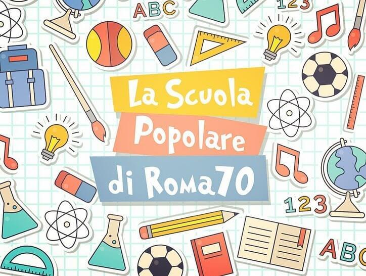 Scuola popolare Roma 70