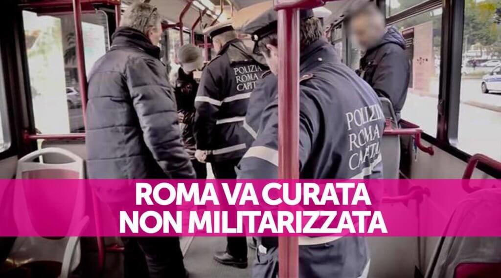 no Roma militarizzata